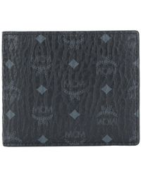 MCM - Color Visetos Two Fold Wallet - Lyst