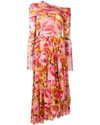 MSGM - フローラルプリント ドレス - Lyst