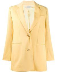 Nina Ricci Oversized Tailored Blazer - Yellow