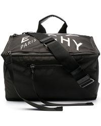 Givenchy Pandora ロゴプリント バッグ - ブラック