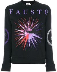 Fausto Puglisi - Sun Print Logo Sweatshirt - Lyst