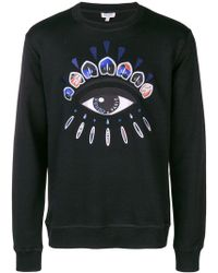 KENZO - Indonesian Flower Eye Sweatshirt - Lyst