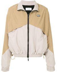 Rhude バイカラー ライトジャケット - ブラウン