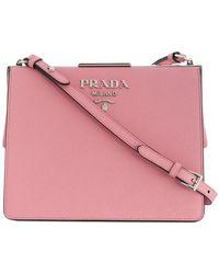 Prada - Light Frame Shoulder Bag - Lyst