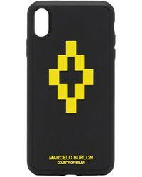 Marcelo Burlon IPhone XS Max CSS-Hülle - Schwarz