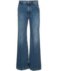Loewe ワイドジーンズ - ブルー