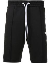 DIESEL P-kurl Side-stripe Track Shorts - Black