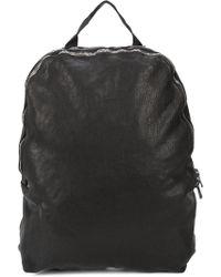 Guidi Minimal Backpack - Black