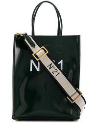 N°21 Logo Shopping Bag - Green