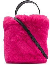 Karl Lagerfeld Сумка-ведро Karl Из Коллаборации С Carine - Розовый
