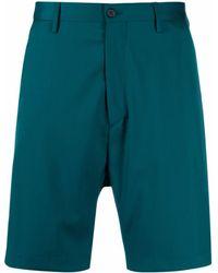 Paura Slim-cut Chino Shorts - Blue