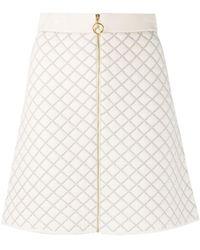 Sandro Amy ツイードスカート - マルチカラー