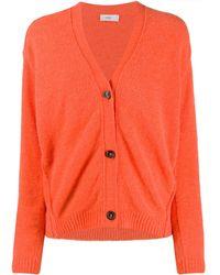 Closed Slouch Cardigan - Orange