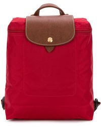Longchamp Рюкзак 'le Pliage' - Красный