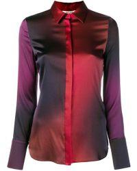 Roberto Cavalli - Degrade Georgette Shirt - Lyst