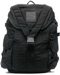 Y-3 Рюкзак С Нашивкой-логотипом - Черный