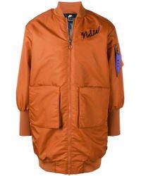 Nike Пальто 'nsw' - Оранжевый