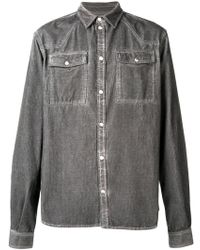 Diesel Black Gold - Classic Denim Shirt - Lyst