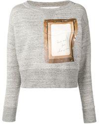 Golden Goose Deluxe Brand - Golden Sweatshirt - Lyst