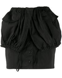 Jacquemus La Jupe Cueillette スカート - ブラック