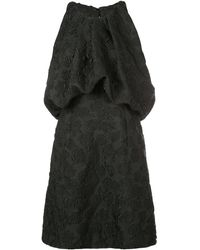 CALVIN KLEIN 205W39NYC エンブロイダリー ドレス - ブラック