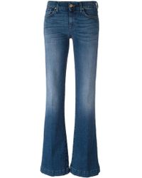 7 For All Mankind - Flared Jeans - Lyst