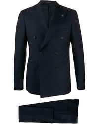 Tagliatore Double-breasted Suit Set - Blue
