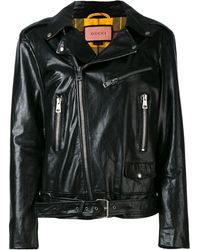 Gucci Ghost Biker Jacket - Black
