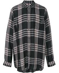 Marni - オーバーサイズ チェックシャツ - Lyst