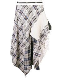 Monse - パッチワーク スカート - Lyst
