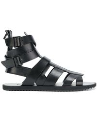 Givenchy - Flat Strappy Sandals - Lyst
