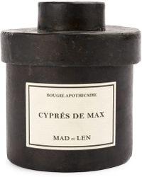 Mad Et Len Cyprés De Max Candle (300g) - Black