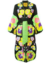 Yuliya Magdych - Pansies Embroidered Dress - Lyst