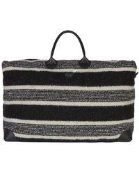 Giuseppe Zanotti New Oberon Duffle Bag - Black