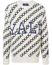 CALVIN KLEIN 205W39NYC Yale セーター - ホワイト