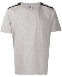 Moschino Футболка С Короткими Рукавами И Логотипом - Серый