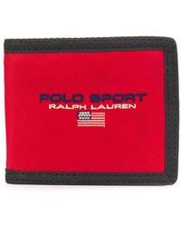 Polo Ralph Lauren Кошелек С Вышитым Логотипом - Красный