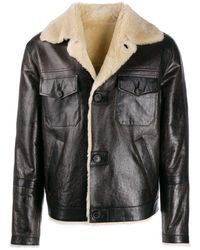 DSquared² Shearling Jacket - Brown