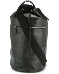 Jil Sander - Drawstring One-shoulder Backpack - Lyst