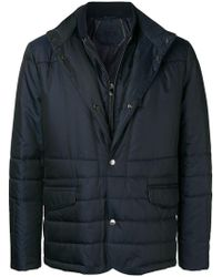 Corneliani - Single-breasted Fitted Jacket - Lyst