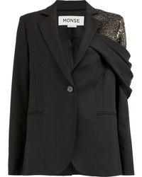 Monse Shedding ジャケット - ブラック