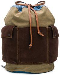 Loewe - Drawstring Bucket Backpack - Lyst