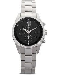 Tasaki Наручные Часы Odessa Chronograph 40 Мм - Черный