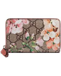 Gucci GG Bloom Wallet - Pink