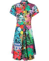 Emanuel Ungaro - Printed Dress - Lyst