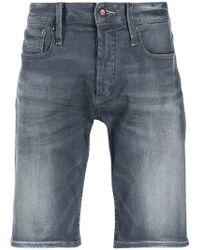 Denham Razor Baltic Shorts - Blue