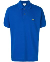 Lacoste - Logo Polo Shirt - Lyst