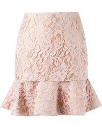 Martha Medeiros - High Waist Lace Skirt - Lyst