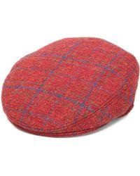 Etro Cappello con motivo scozzese - Rosso