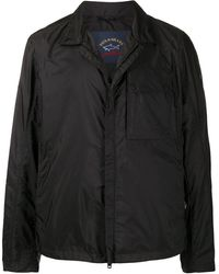 Paul & Shark Zip-up Lightweight Jacket - Black